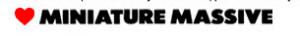 MINIATURE MASSIVE - DESIGN - CREATIVE - REMOTE DESIGN - SUSTAINABILITY